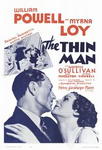 The Thin Man - 11 x 17 Movie Poster - Style D
