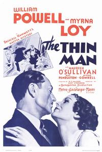 The Thin Man - 27 x 40 Movie Poster - Style B