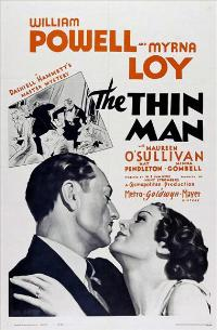The Thin Man - 43 x 62 Movie Poster - Bus Shelter Style A