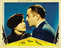 The Thin Man - 11 x 14 Movie Poster - Style E