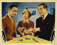 The Thin Man - 11 x 14 Movie Poster - Style F