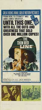 The Thin Red Line - 14 x 36 Movie Poster - Insert Style A