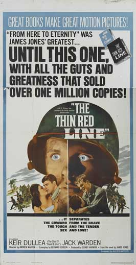 The Thin Red Line - 20 x 40 Movie Poster - Style A