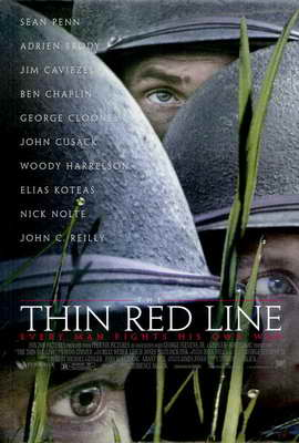 The Thin Red Line - 27 x 40 Movie Poster - Style A