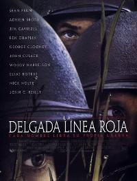 The Thin Red Line - 27 x 40 Movie Poster - Spanish Style A