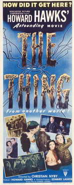 The Thing from Another World - 14 x 36 Movie Poster - Insert Style A