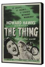 The Thing from Another World - 11 x 17 Movie Poster - Style C - Museum Wrapped Canvas