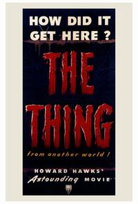 The Thing from Another World - 27 x 40 Movie Poster - Style A