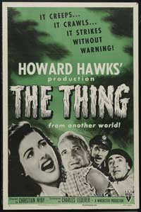 The Thing from Another World - 43 x 62 Movie Poster - Bus Shelter Style B