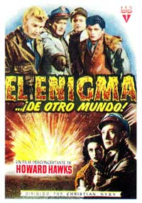 The Thing from Another World - 11 x 17 Movie Poster - Spanish Style A