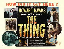 The Thing from Another World - 11 x 17 Movie Poster - Style E