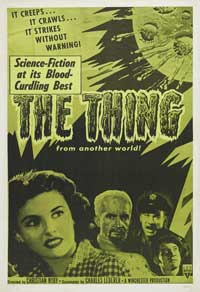The Thing from Another World - 11 x 17 Movie Poster - Style F