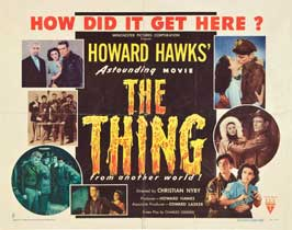 The Thing from Another World - 22 x 28 Movie Poster - Half Sheet Style B