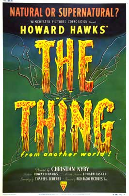 The Thing from Another World - 11 x 17 Movie Poster - Style G