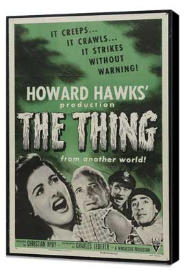 The Thing from Another World - 27 x 40 Movie Poster - Style C - Museum Wrapped Canvas