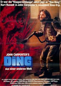 The Thing - 11 x 17 Movie Poster - German Style A