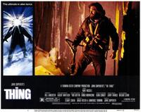 The Thing - 11 x 14 Movie Poster - Style T