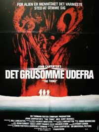 The Thing - 27 x 40 Movie Poster - Danish Style A