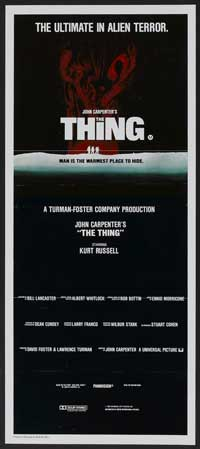 The Thing - 14 x 36 Movie Poster - Insert Style B