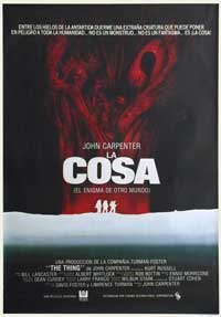The Thing - 27 x 40 Movie Poster - Spanish Style A