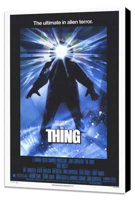 The Thing - 27 x 40 Movie Poster - Style A - Museum Wrapped Canvas