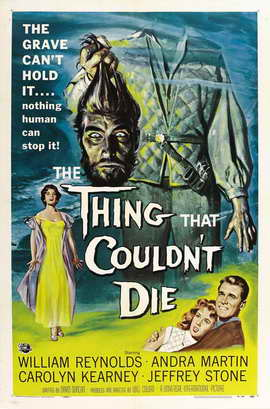 The Thing That Couldn't Die - 11 x 17 Movie Poster - Style A