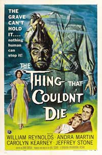 The Thing That Couldn't Die - 27 x 40 Movie Poster - Style A