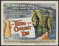 The Thing That Couldn't Die - 22 x 28 Movie Poster - Half Sheet Style A