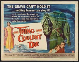 The Thing That Couldn't Die - 11 x 14 Movie Poster - Style A
