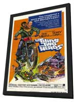 The Thing with Two Heads - 11 x 17 Movie Poster - Style A - in Deluxe Wood Frame