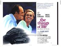 The Things of Life - 22 x 28 Movie Poster - Half Sheet Style A