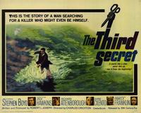 Third Secret - 22 x 28 Movie Poster - Half Sheet Style A