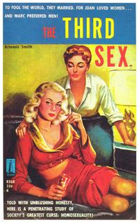 The Third Sex - 11 x 17 Retro Book Cover Poster