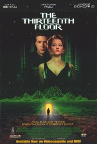 The Thirteenth Floor - 11 x 17 Movie Poster - Style B