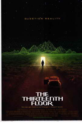 The Thirteenth Floor - 27 x 40 Movie Poster - Style A