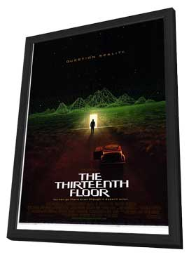 The Thirteenth Floor - 27 x 40 Movie Poster - Style A - in Deluxe Wood Frame