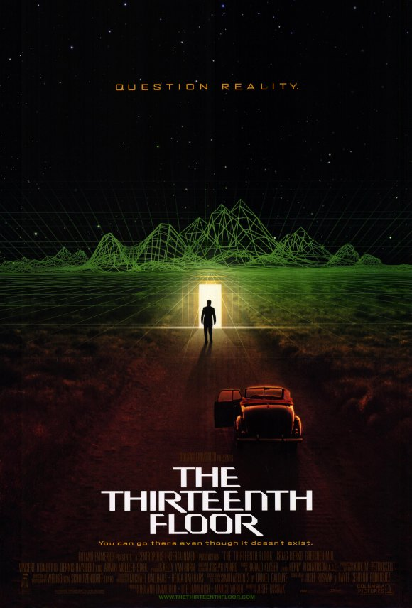 The thirteenth floor movie posters from movie poster shop for 13 floor