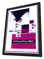 The Thomas Crown Affair - 11 x 17 Movie Poster - Style A - in Deluxe Wood Frame