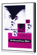 The Thomas Crown Affair - 11 x 17 Movie Poster - Style A - Museum Wrapped Canvas