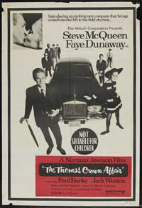 The Thomas Crown Affair - 11 x 17 Movie Poster - Australian Style A