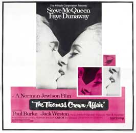 The Thomas Crown Affair - 30 x 30 Movie Poster - Style A