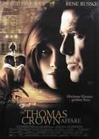 The Thomas Crown Affair - 27 x 40 Movie Poster - German Style A