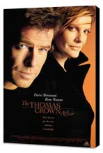 The Thomas Crown Affair - 27 x 40 Movie Poster - Style B - Museum Wrapped Canvas