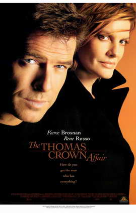 The Thomas Crown Affair - 11 x 17 Movie Poster - Style B