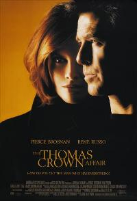 The Thomas Crown Affair - 43 x 62 Movie Poster - Bus Shelter Style A