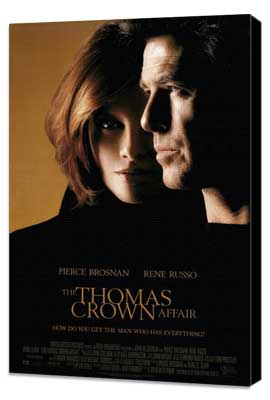 The Thomas Crown Affair - 27 x 40 Movie Poster - Style A - Museum Wrapped Canvas