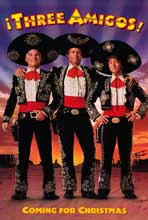 Three Amigos - 11 x 17 Movie Poster - Style B