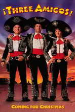 Three Amigos - 27 x 40 Movie Poster - Style B