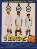 Three Amigos - 11 x 17 Movie Poster - French Style A