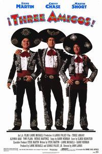 Three Amigos - 11 x 17 Movie Poster - Style A